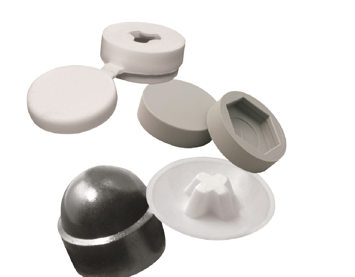 Plastic Nut, Bolt & Screw Cover Caps