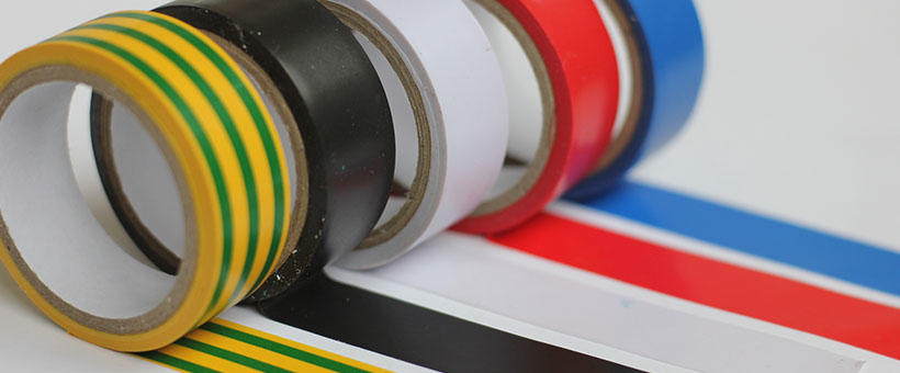 Your guide to electrical tape colours Featured Image