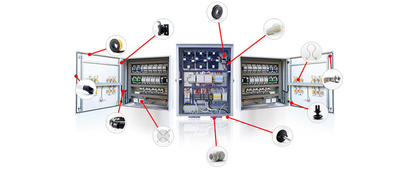 What components are needed for industrial cabinets and enclosures? Featured Image