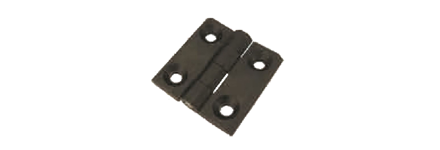​Leaf hinges – male stud thread insert mount