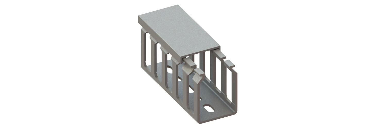 Cable ducts – screw mount, slotted