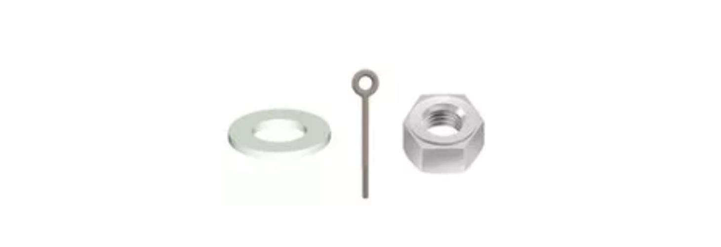 Screws, nuts and washers