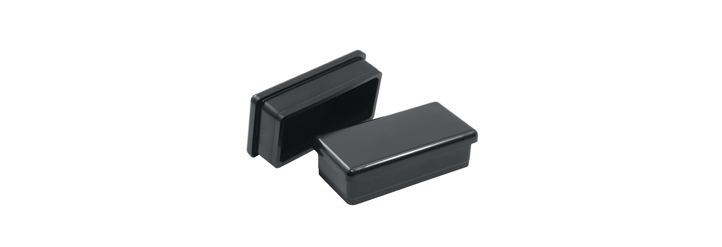 Rectangular inserts and glides
