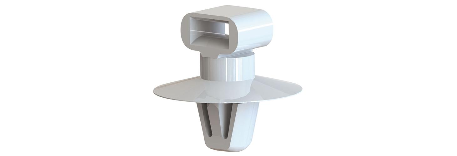 Cable tie mounts – arrowhead mount, cupped