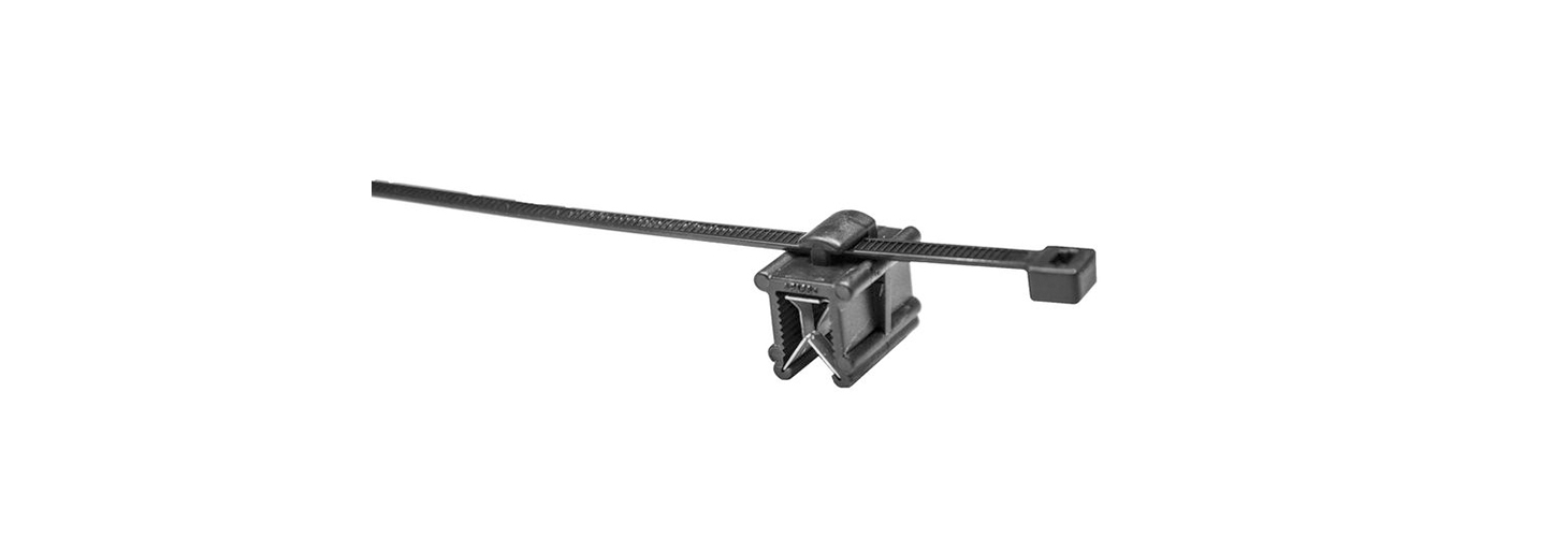 ​Edge mount cable tie holder