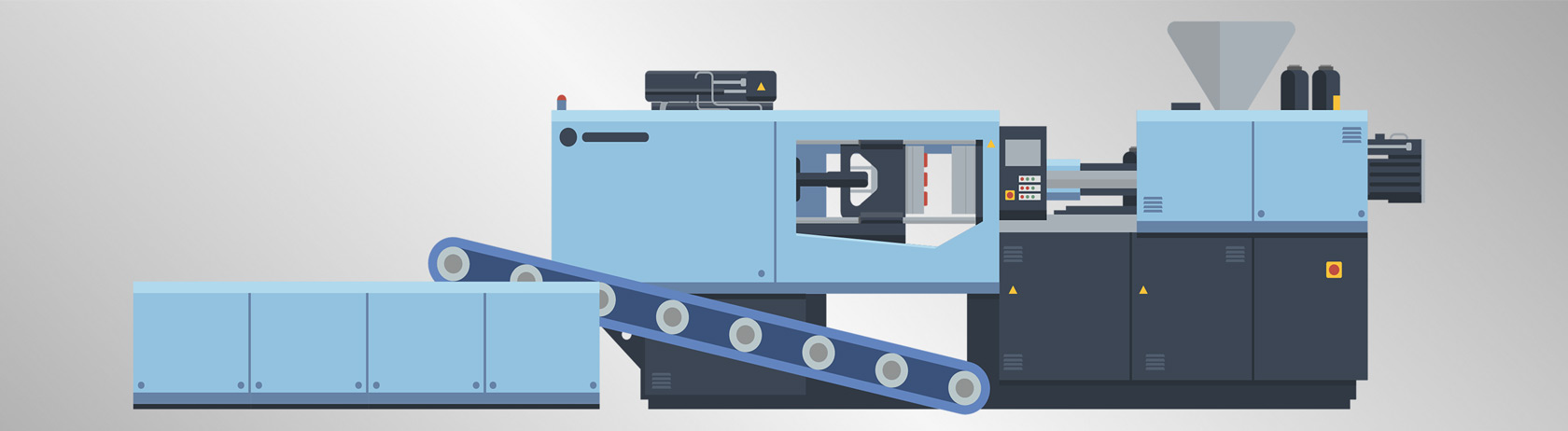 How does the injection molding process work?