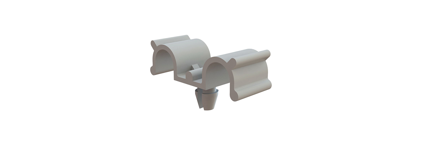 Cable Clamps - Dual Half U