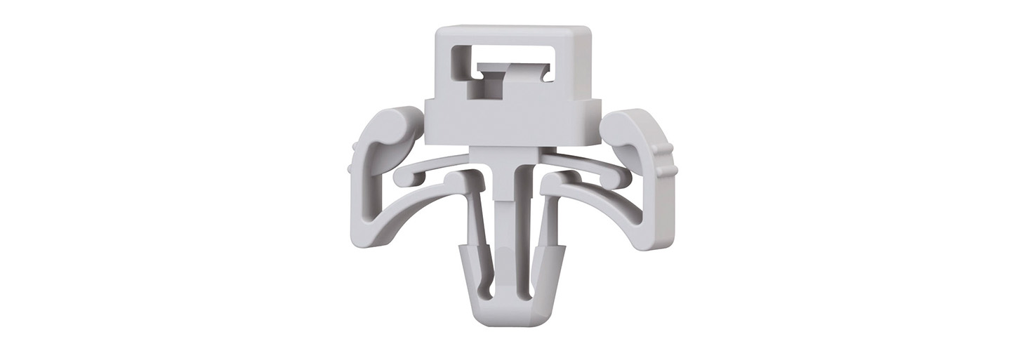 Push Mount Cable Tie Holder