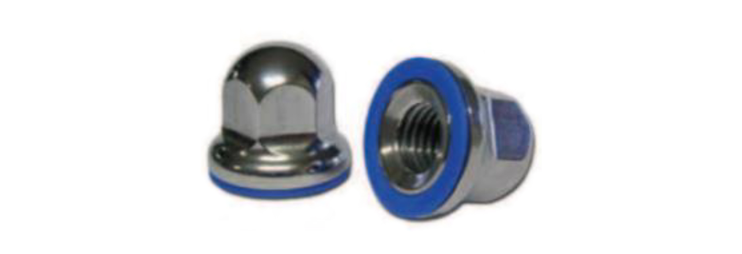 304 stainless steel dome nuts