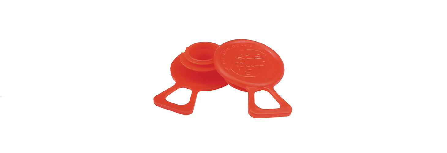 Quick Fit Threaded Protection Plug with Easy Pull-Tab