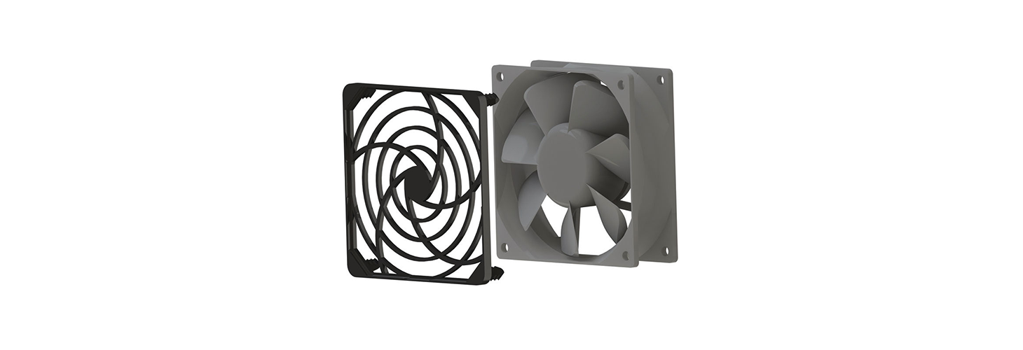 Fan Guards, Plastic, Snap-in