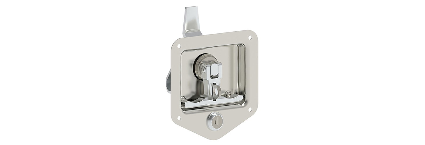 ​Flush Cup Recessed T-Handle Latch