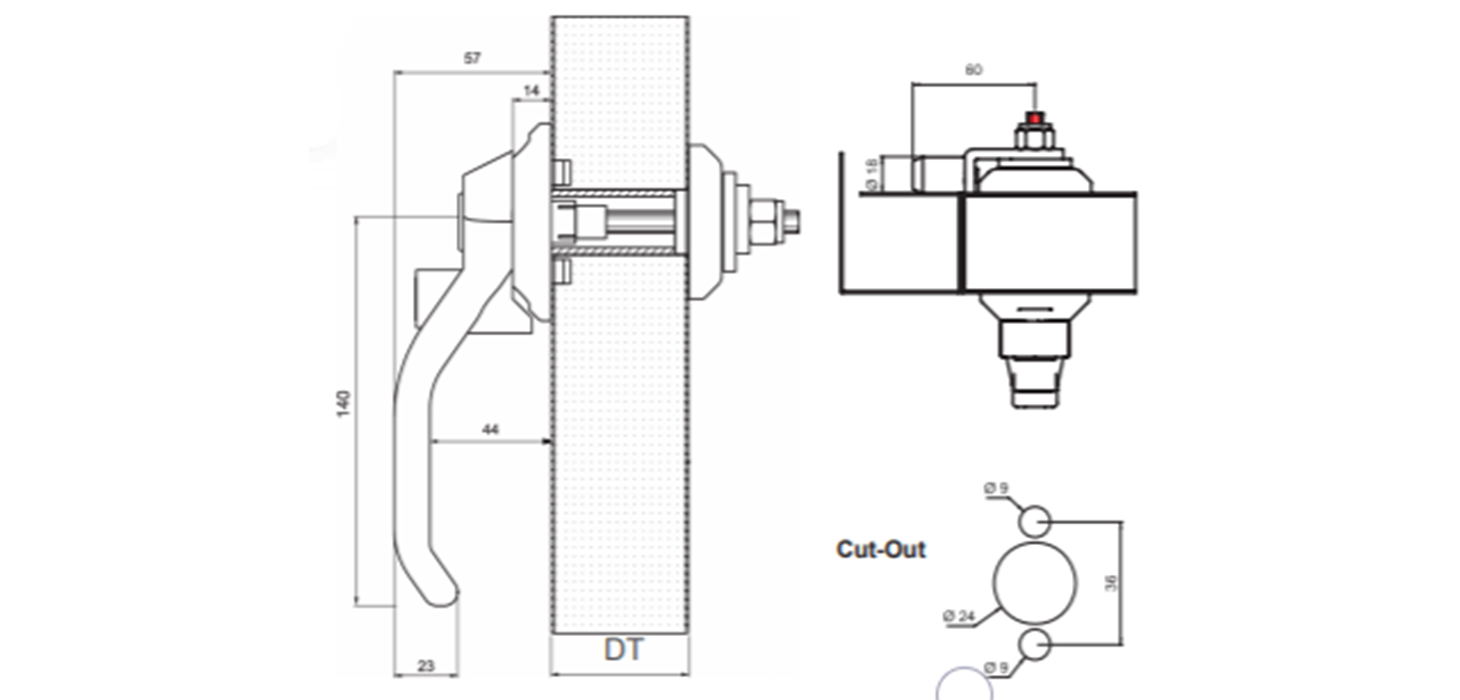 Handle Turn Cam Latches