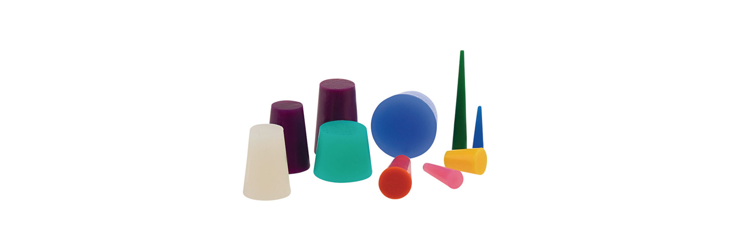 High-Temperature Silicone Tapered Plugs