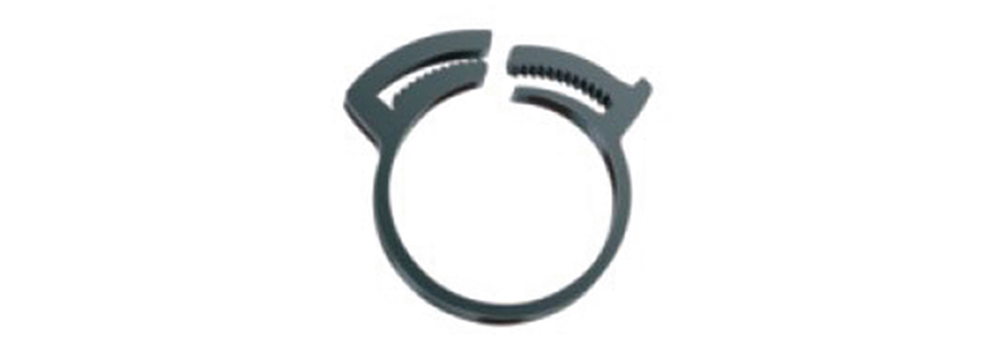 Hose and tubing clamps