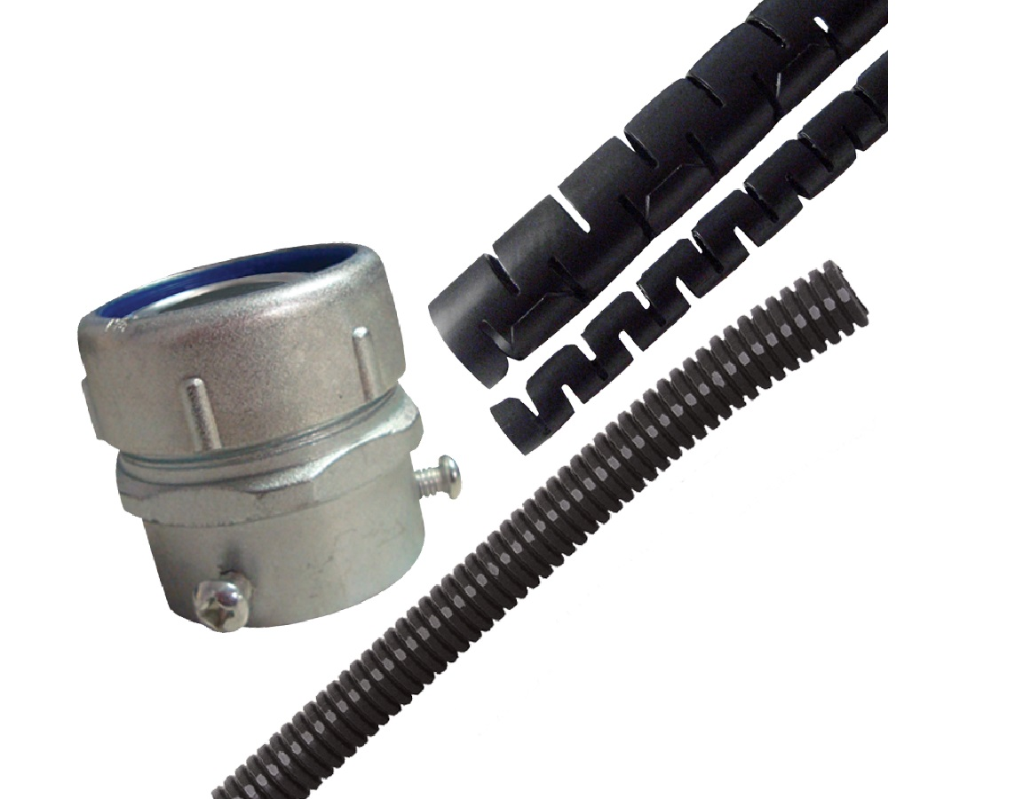 Cable Conduits, Wraps & Accessories