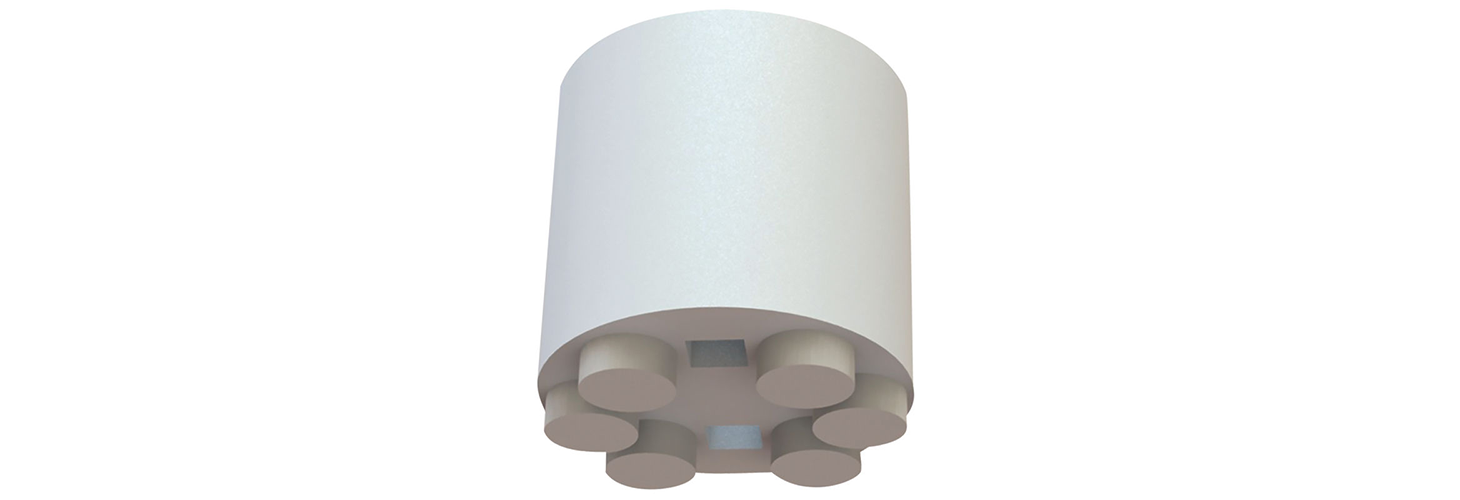 LED Spacers - Round, Imperial Spacers, Moulded, 5mm