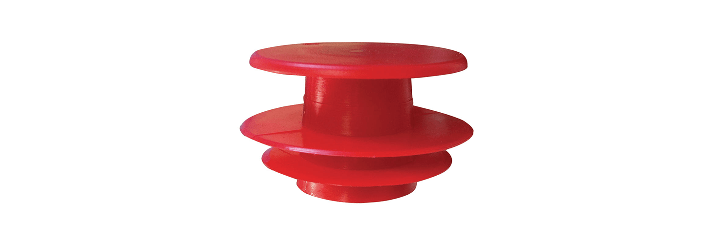 Ribbed Pipe-End Plugs