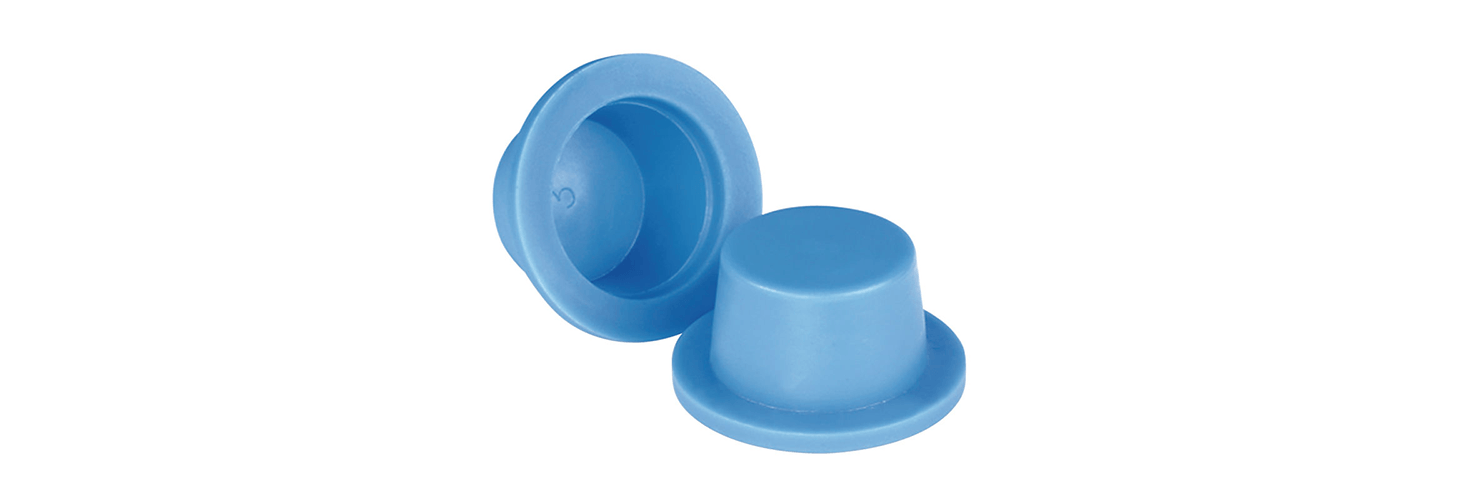 Tapered Round Plugs with Flange