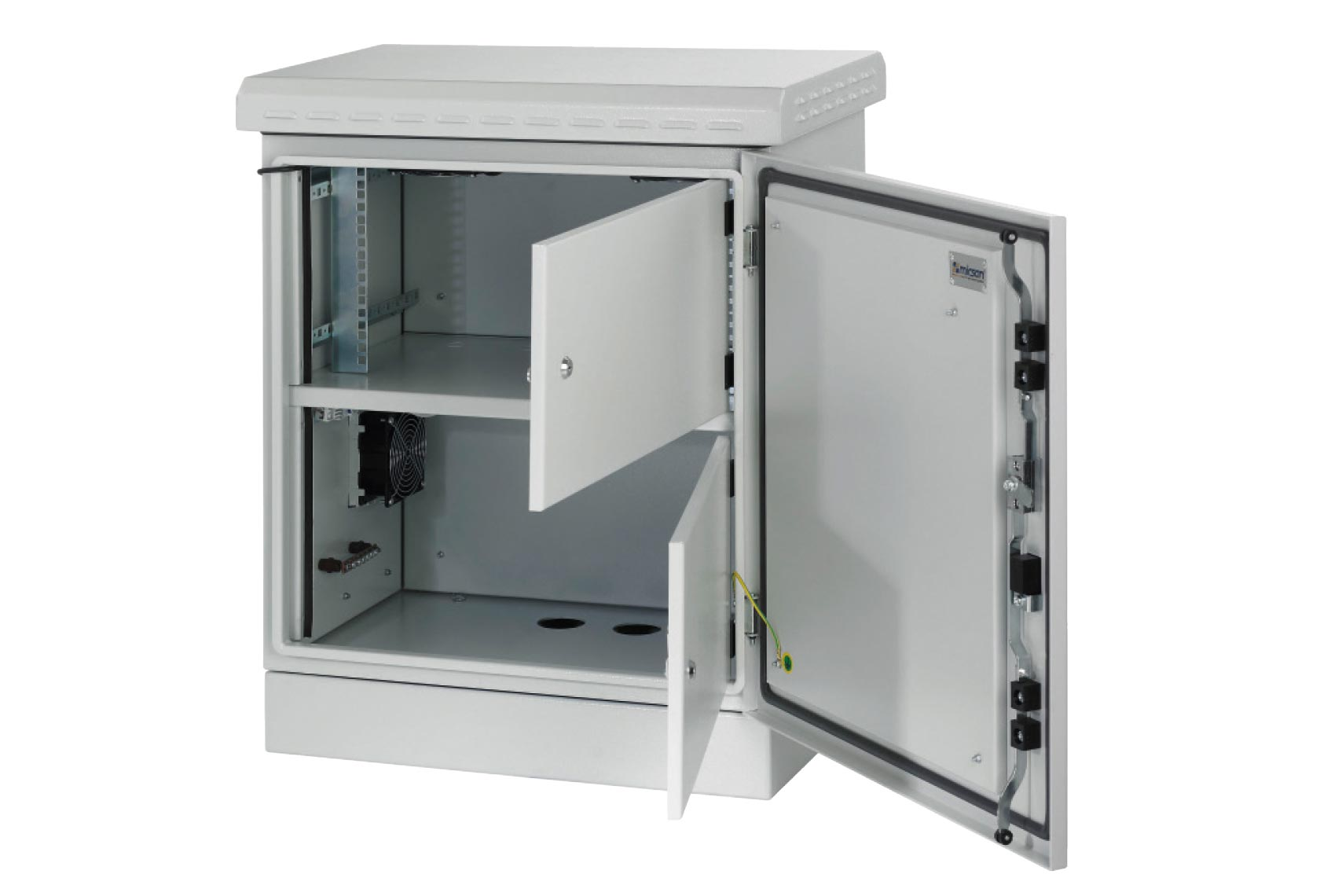 Cabinet Building With Access Hardware