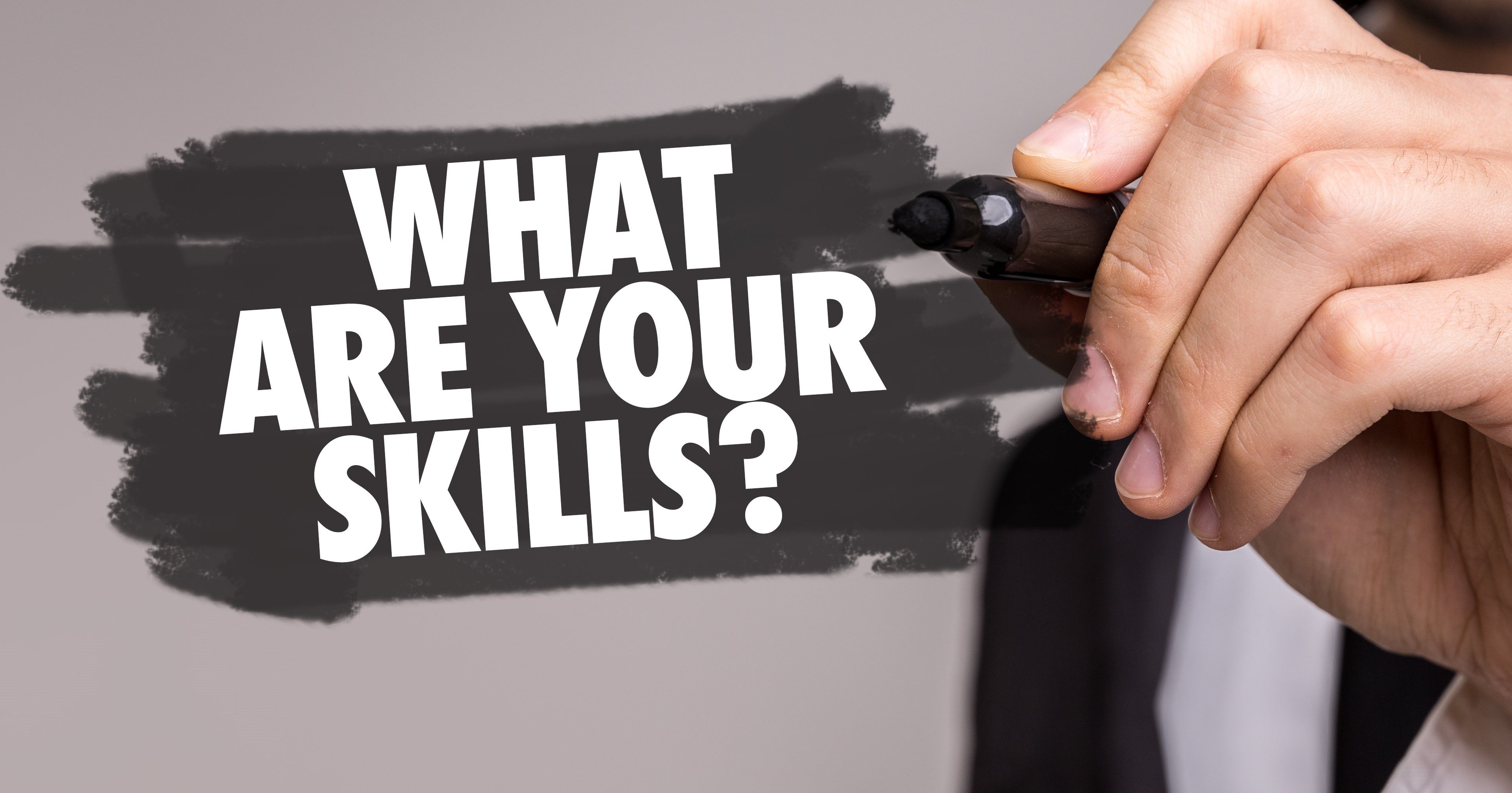 Sign with What are your skills?